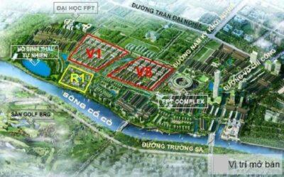 Đất nền FPT Đà Nẵng được bao bọc bởi hệ thống tiện ích nội khu đẳng cấp